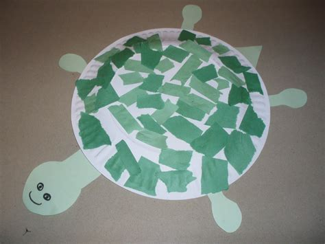 Turtle Paper Plate Craft Template - paper plate turtle template related keywords paper plate