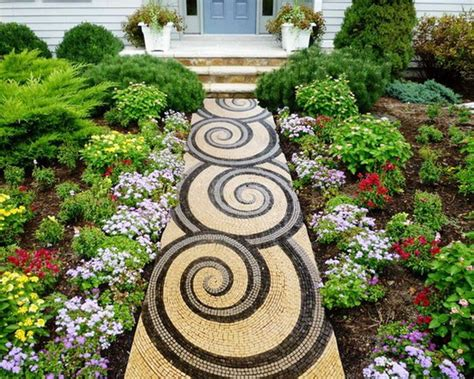 Mosaic Ideas For Garden Mosaic Tiles Buy How To Install Mosaic Tiles On The Floor Home And Garden Pinterest