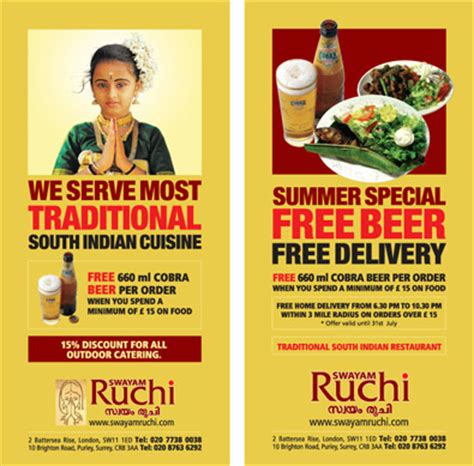 design flyer for restaurant restaurant flyer designs