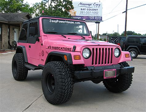 pink convertible jeep 1998 jeep wrangler sport sold jeep power house serving