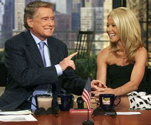 Regis Philbin To Bypass Surgery by Regis Philbin Returns To His Tv Talk Show The Blade