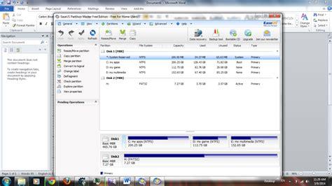 Berapa Micro Sd 8gb partisi tambahan dengan link2sd dan easuse partition