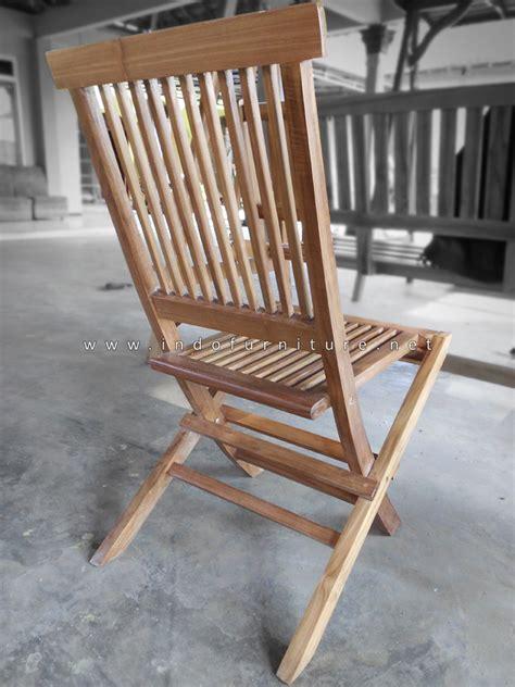 Kursi Lipat Panjang kursi lipat kayu indofurniture