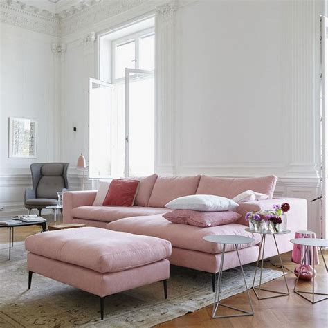pink and grey sofa best 25 pink sofa ideas on pinterest pink sofa