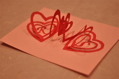 how to make a pop up valentines card spiral pop up card template images frompo