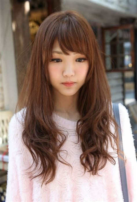 hairstyle for round face japanese asian hairstyles for round faces hairstyles