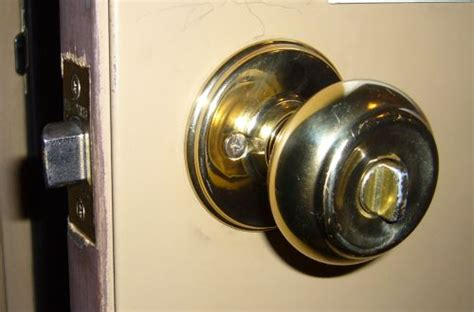 Deadbolt With Knob by Knob With Deadbolt Built In