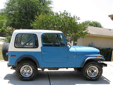 1977 Jeep Cj7 For Sale Ingram | Jzgreentown.com