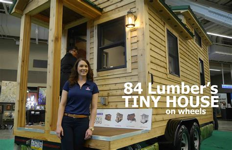 tiny house new 84 lumber s new tiny house on wheels