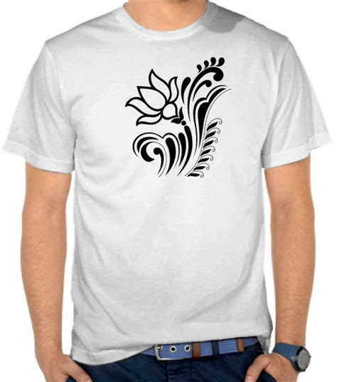 Kaos T Shirt Distro Adidas Retro jual kaos bunga lotus hindu satubaju