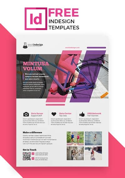 free indesign flyer templates 50 free psd mockups for editorial designers
