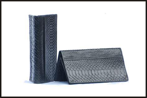 Dompet Python toko tas kulit tas kulit tas wanita tas