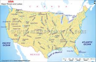 map of america with rivers us maps rivers cruise guide