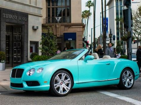 turquoise bentley 2013 bentley continental gtc in tiffany blue bentley