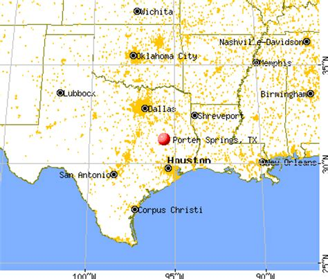 porter texas map porter springs texas tx 75835 profile population maps real estate averages homes