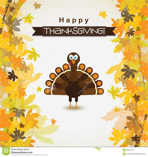 free thanksgiving greeting card templates template greeting card with a happy thanksgiving turkey