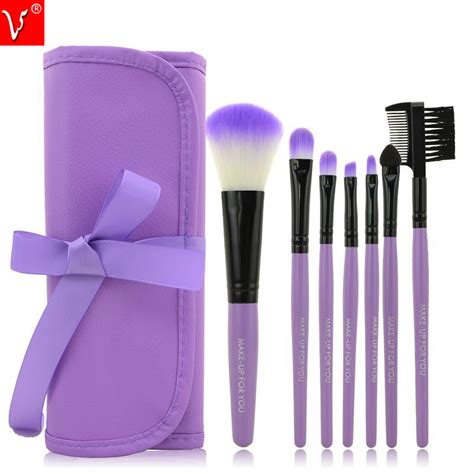 professional 7 pcs makeup brushes set tools make up