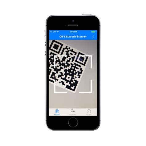 qr code barcode scanner and generator for ios with admob by mcc ltd