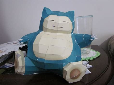 image gallery snorlax papercraft