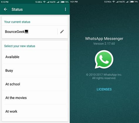 Two Apps How To Get Back Whatsapp Status On Android