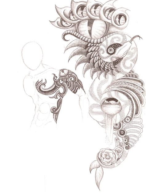 modern art tattoo designs abstract design by patrickschappe on deviantart
