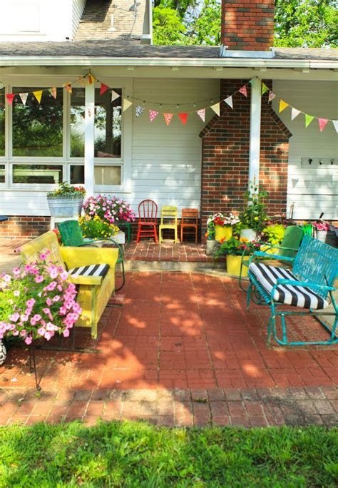 colorful backyard ideas 17 best ideas about colorful furniture on pinterest