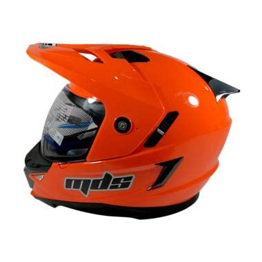 Helm Fullface Mds Superpro Motif White Black Blue jual helm visor harga promo diskon