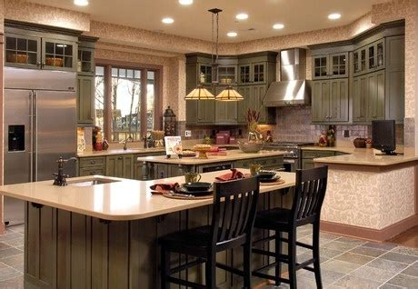 New Home Kitchen Design What S In And Out In Home Design