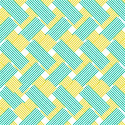 Muster Blau Gelb Gelb Und Blau Muster Hintergrund Zick Zack Linien Der Kostenlosen Vektor