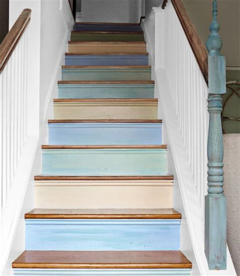 style stylish stairs painted