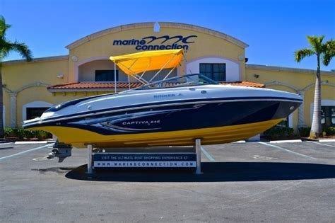 used rinker bowrider boats for sale used 2009 rinker 246 captiva bowrider boat for sale in