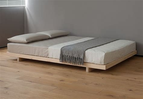 low platform beds natural bed company kobe contemporary low loft bed