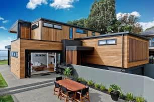 home design ideas nz a modern two storey dwelling inspiring calmness in new zealand freshome com