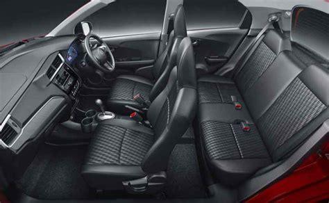 honda brio interior honda brio facelift launched in india prices start at rs