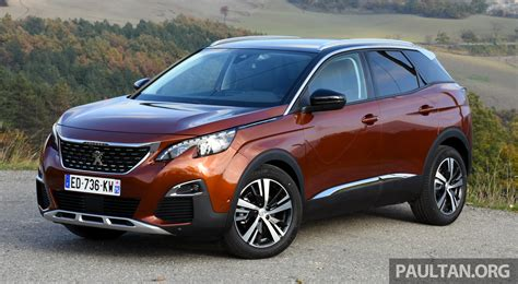 peugeot 2nd cars peugeot 3008 2nd to debut in malaysia q2 2017 image