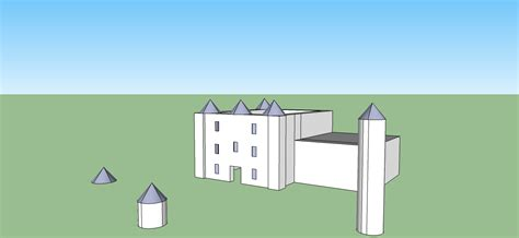 google sketchup castle tutorial chibikage89 s photo journeys creating a 3d castle model