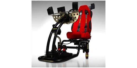 siege simulateur de conduite d box gp pro 200 rc siege de simulation sur easylounge