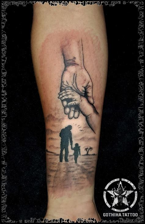 fatherhood tattoos unique tattoos for dads www pixshark