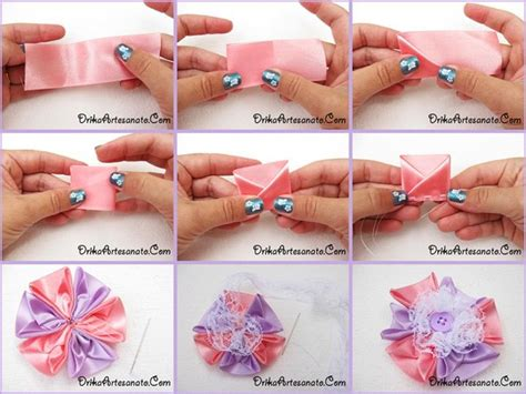 vomo hacer flores en cinta de agua mo 241 o bicolor en cintas de raso embalajes pinterest