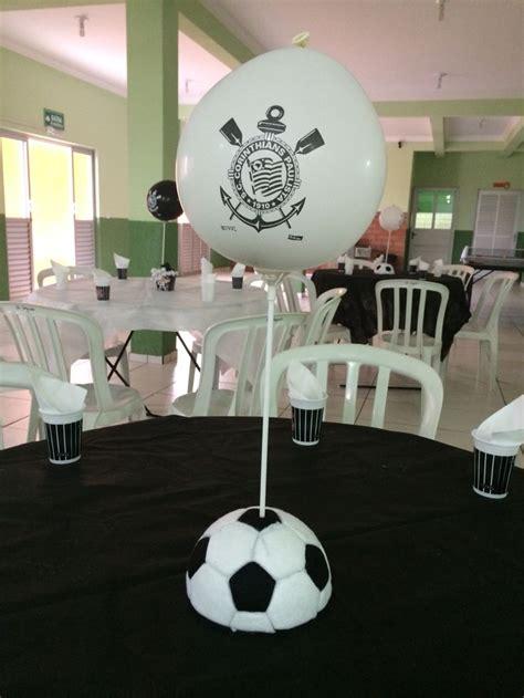 centros de mesa de futbol para clubes 27 melhores imagens sobre festa corinthians no pinterest
