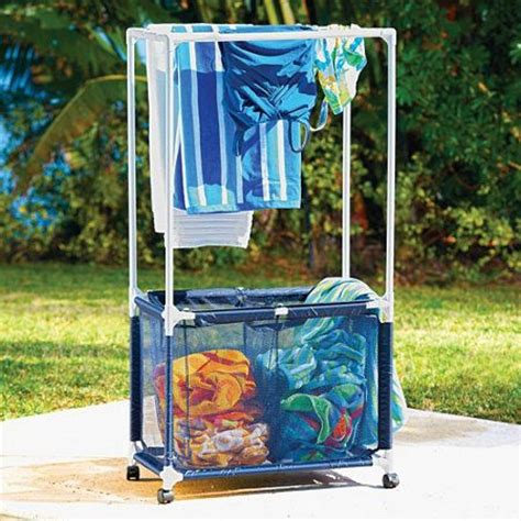 Swimming Pool Towel Rack by Swimming Pool Towel Bar Her Home Front