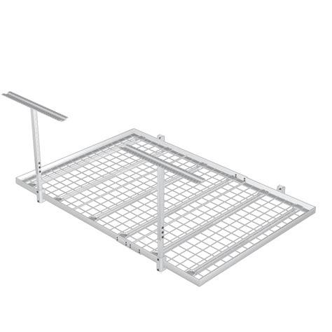 Shelf It Overhead Storage by 4 X6 700lb Overhead Wall Shelf Storage Kit The Garage
