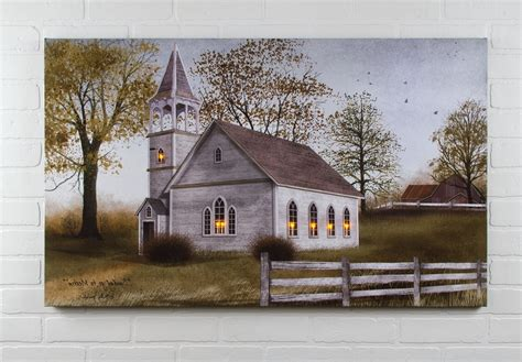 lighted church canvas 15 the best billy framed wall prints