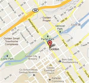 golden co map