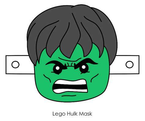 printable hulk mask template printable halloween masks