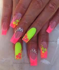 colorful acrylic nails acrylic nails my nails