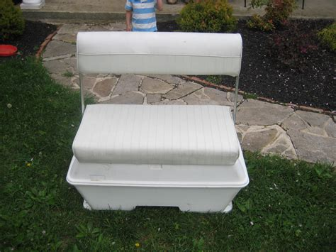 boat livewell coolers deluxe cooler livewell swingback seat the hull truth