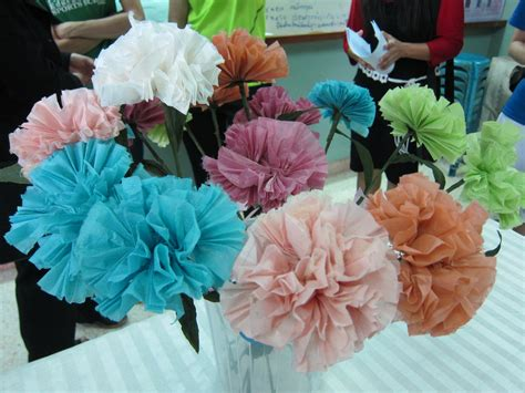 How To Make A Paper Mache Flower - paper mache flowers wanderlast