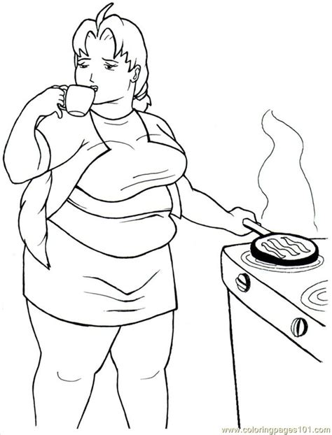 breakfast printable coloring pages