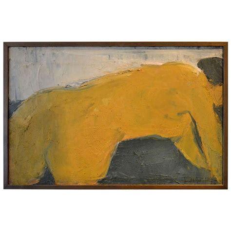 reclining abstract painting at 1stdibs